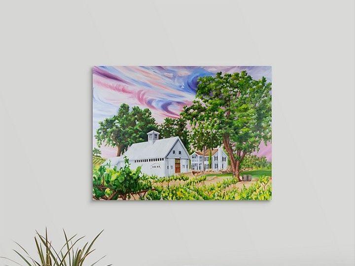 Tmx Sunset At Hammersky 18x24 Mirror Wrap Canvas Print 51 171395 158205196545655 Atascadero, California wedding favor