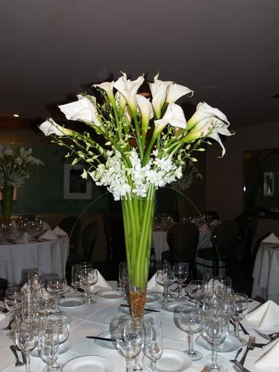 beautiful callas for any reception