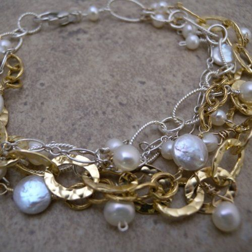 Tmx 1282524363151 4chaintwotonepearlbracelet2 Birmingham wedding jewelry