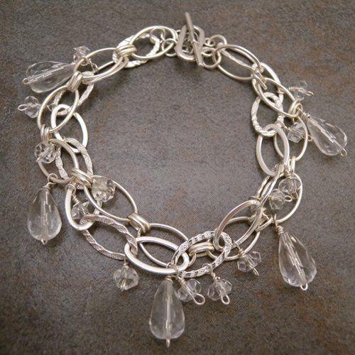 Tmx 1285112327299 Bridalcrystalquartztwochainbracelet1 Birmingham wedding jewelry