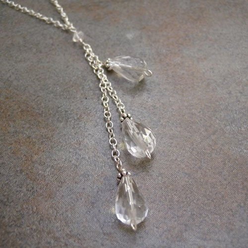 Tmx 1285112331299 Crystalquartznecklace7 Birmingham wedding jewelry