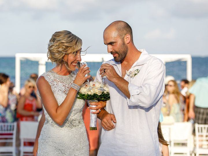 Tmx 1465835980281 Couple Walk Aisletoast Overland Park wedding travel