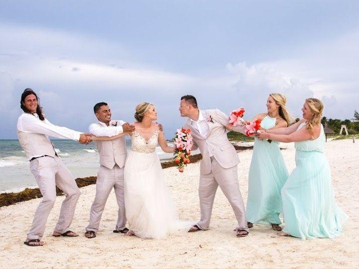 Tmx 1465837288955 Wedding Party Beach Fun Sm Overland Park wedding travel