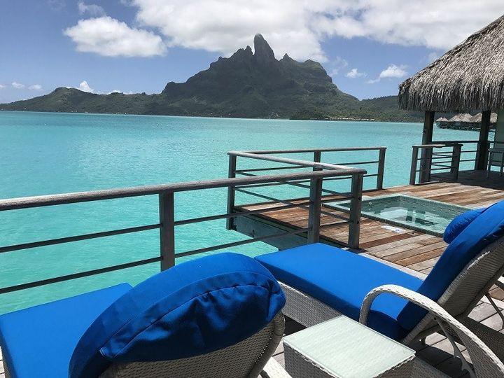 Tmx 1483501517224 St. Regis Bora Bora Overwater Bungalow Plung Pool  Overland Park wedding travel