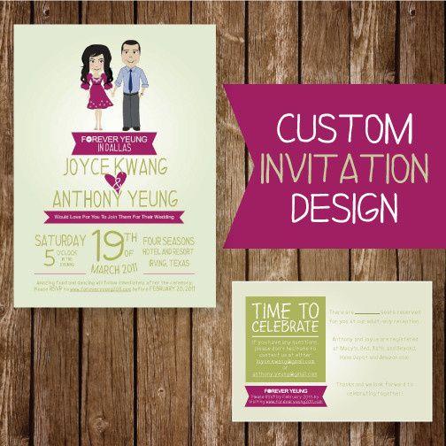 U lucky girl invitations richardson tx weddingwire 800x800 1421877774436 custominvite stopboris Choice Image