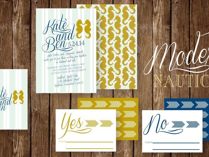 Tmx 1393537907315 Seahors Richardson wedding invitation