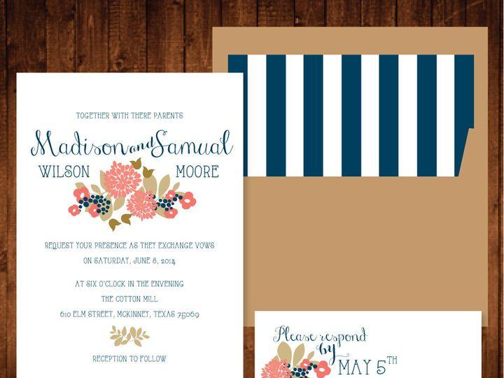 Tmx 1421877922038 Rusticset Richardson wedding invitation