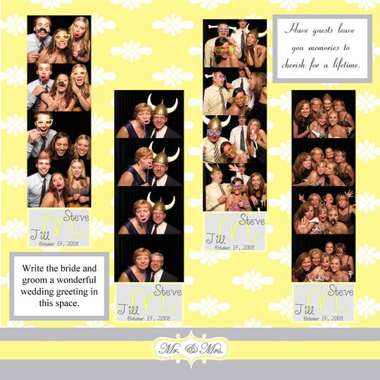 scrapbook 8 yellow