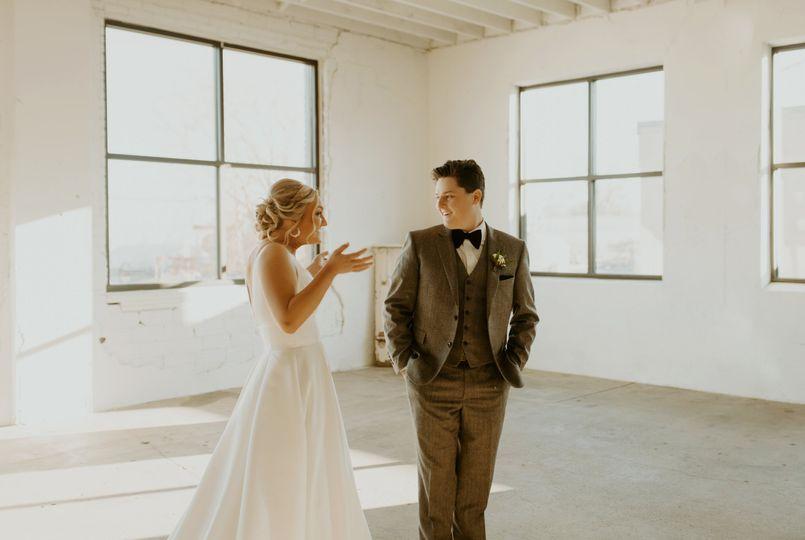 Taryn and Aaron - first look