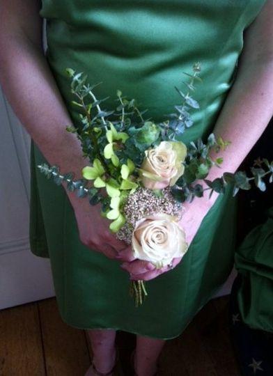 Bridesmaid bouquet vintage