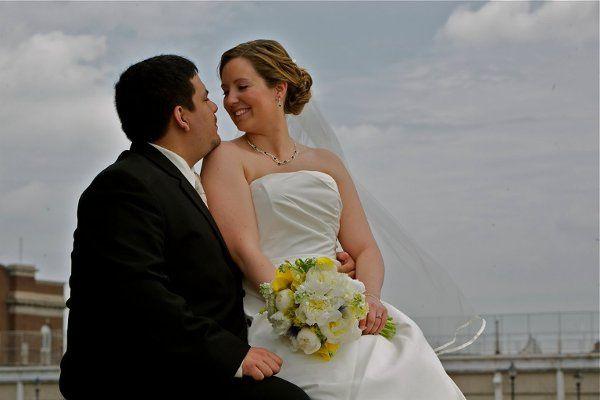 Tmx 1333940522240 Bridalbouquetpeonieswhiteyellow Baltimore, MD wedding florist