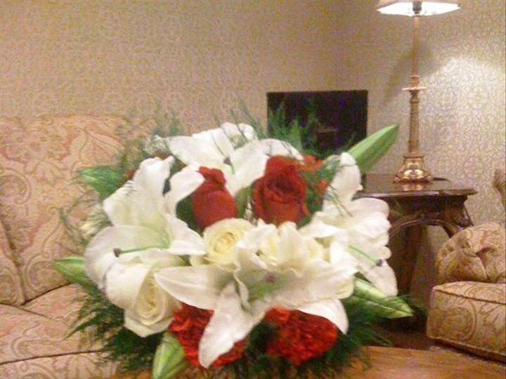 Tmx 1333940818798 Redwhiteholidaybouquet Baltimore, MD wedding florist