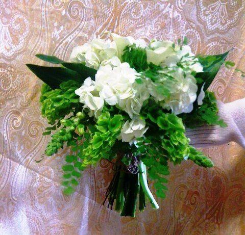 Tmx 1335828627346 Greenwhitenaturalgardenstylebouquet Baltimore, MD wedding florist