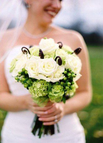 Tmx 1335828636240 Greenwhitewithfiddleheadferns Baltimore, MD wedding florist
