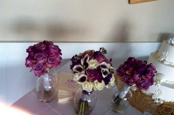 Tmx 1340573978580 Purplebouquets Baltimore, MD wedding florist