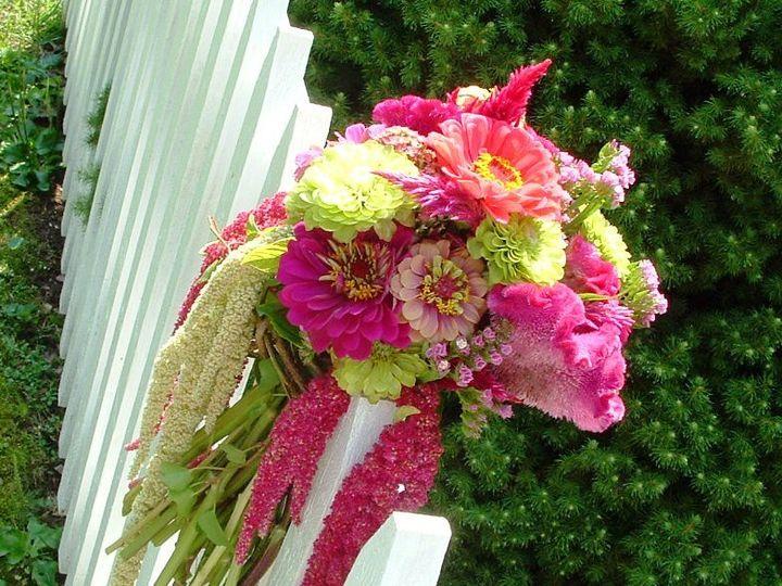 Tmx 1340574183458 Copy2ofEcofriendlyfieldflowerspinkpurplebouquet Baltimore, MD wedding florist