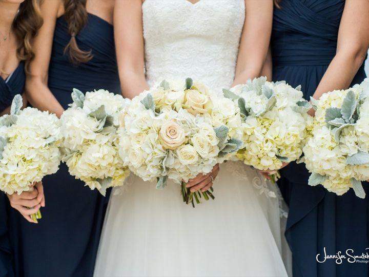 Tmx 1455374366220 Sahara Rose White Spray Rose Dusty Miller Hydrange Baltimore, MD wedding florist