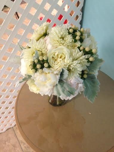 Tmx 1455374404001 White Peony Dahlia Dusty Miller Snowberry White Hy Baltimore, MD wedding florist