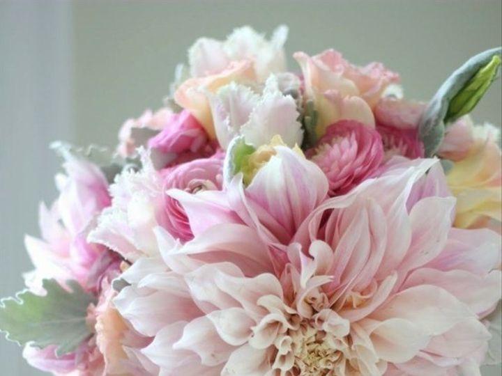 Tmx 1455374456640 Dahlia Ranunculus Dusty Miller Pale Pink Bouquet Baltimore, MD wedding florist