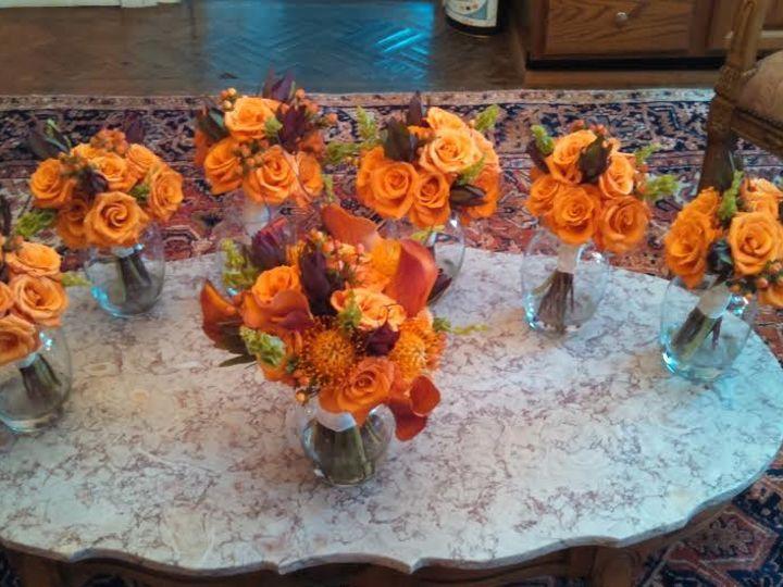 Tmx 1455374733526 Fall Autumn Orange Bouquets Baltimore, MD wedding florist