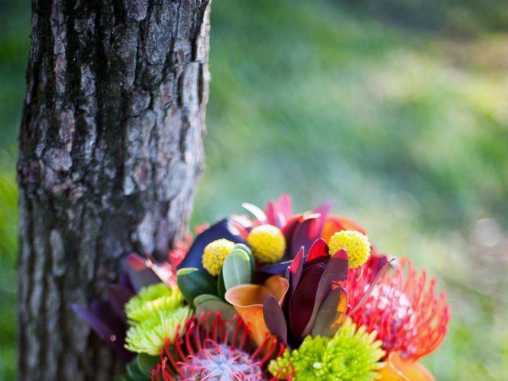 Tmx 1455374865713 Fall Bouquet Protea Mango  Eggplan Callas Baltimore, MD wedding florist