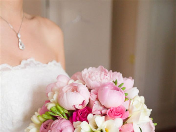 Tmx 1455375049541 Pink Peony Bouquet With Freesia  Roses Baltimore, MD wedding florist
