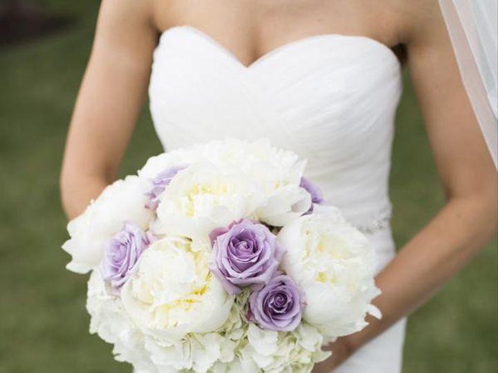 Tmx 1455375998690 White Hydrangea Lavender Rose White Peony Bouquet Baltimore, MD wedding florist