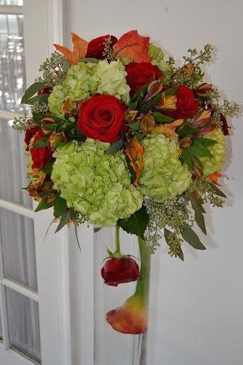 Tmx 1455376053466 Tall Green Hydrangea Orange Peruvian Lily Orange R Baltimore, MD wedding florist