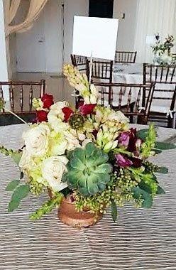 Tmx 1455376111840 Centerpiece At Legg Mason Tuberose Seeded Euch 2 Baltimore, MD wedding florist