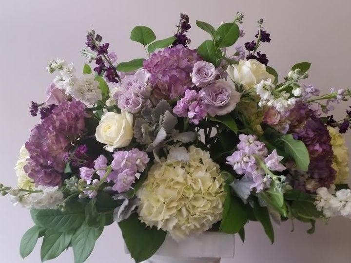 Tmx 1455376305552 Ceremony White Hydrangea Lavender Roses Purple Sto Baltimore, MD wedding florist