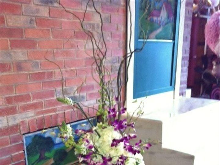 Tmx 1455376440238 Submerged Orchid  Hydrangea Ceremony Or Altar Arra Baltimore, MD wedding florist