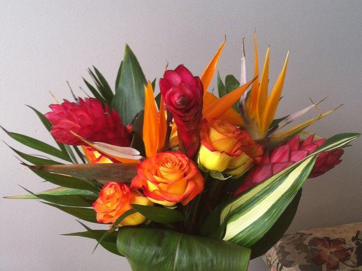 Tmx 1455377291263 Tropical Ginger Bird Of Paradise Bouquet Baltimore, MD wedding florist