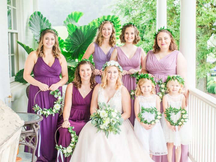 Tmx Halo Garland Bridesmaids Euch Boho 51 146395 Baltimore, MD wedding florist