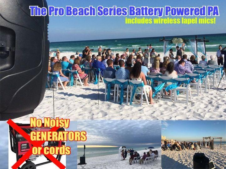 Wireless beach sound