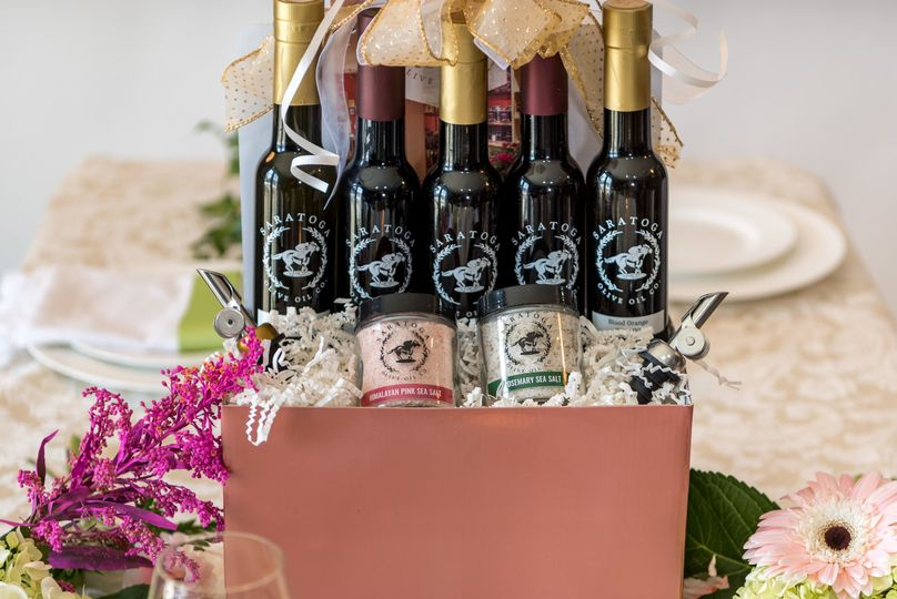 Premium gift basket for your wedding party gift!