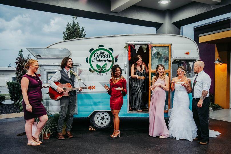 Green Tambourine Food Truck