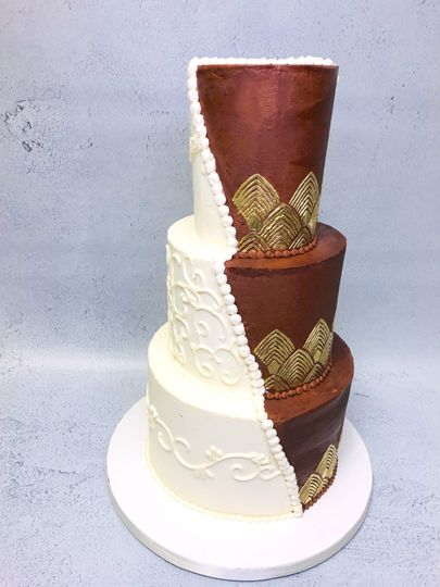Best of Both Wedding Cake