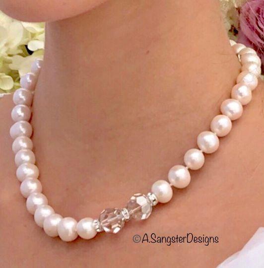 Cultured+Swarovski Pearls