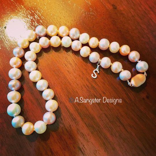 Cultured Rose Pearls