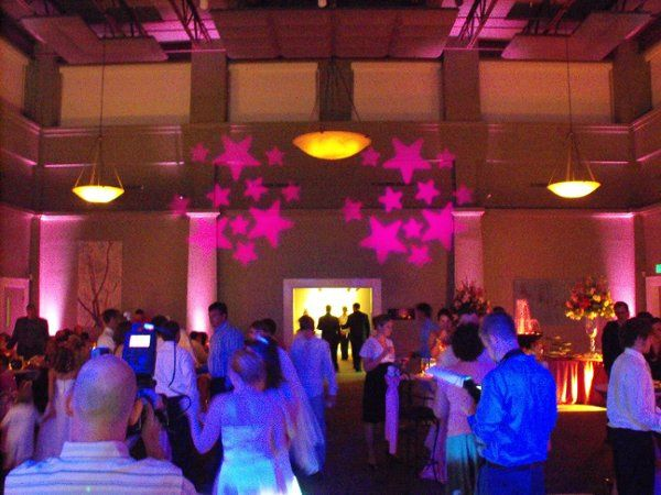 Wedding Reception with uplighting and other lighting upgrades