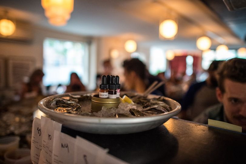 Our oyster bar