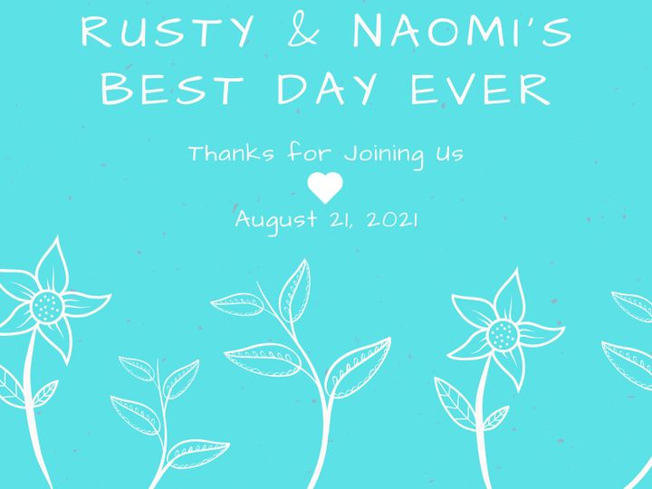 Tmx Best Day Ever Rusty Naomi 51 1969395 159467059156986 Albert Lea, MN wedding favor