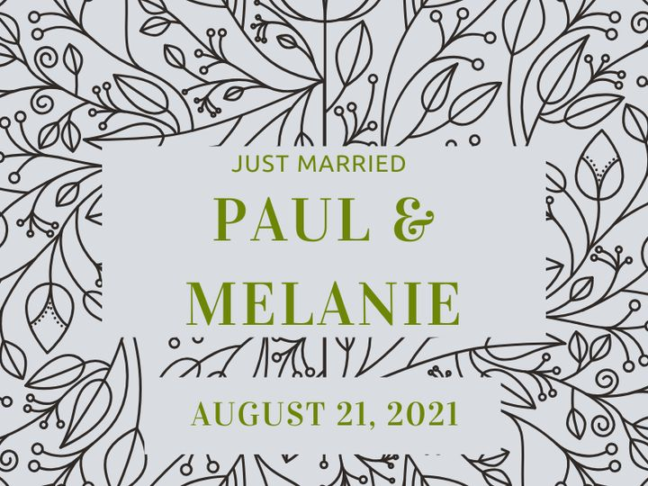 Tmx Just Married Paul Melanie 51 1969395 159467059216427 Albert Lea, MN wedding favor