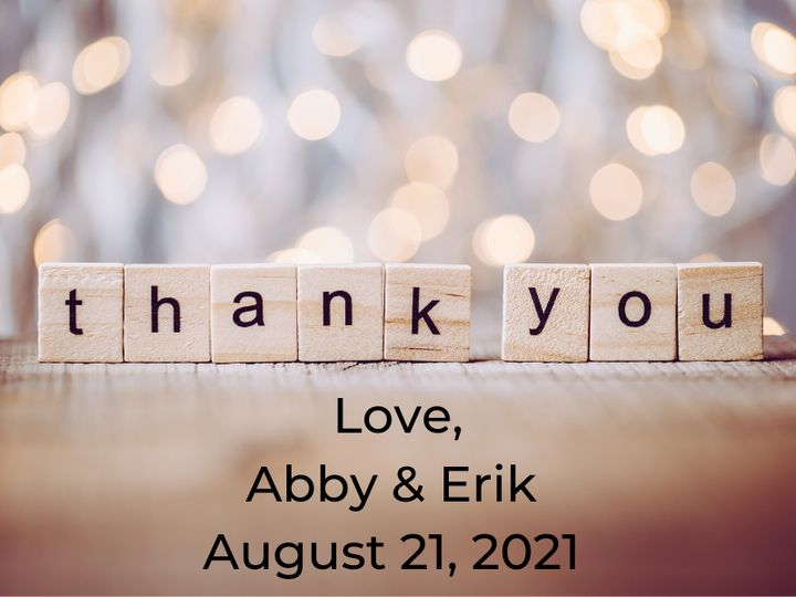 Tmx Love Abby Erik August 21 2021 51 1969395 159467058686026 Albert Lea, MN wedding favor