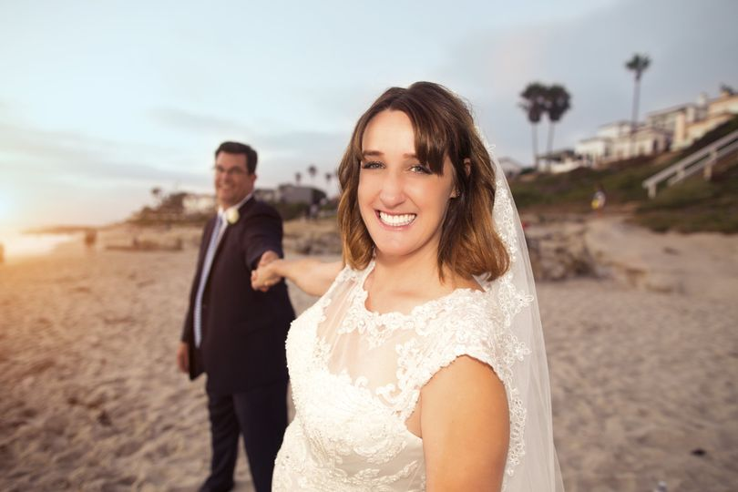 Beach Newlyweds