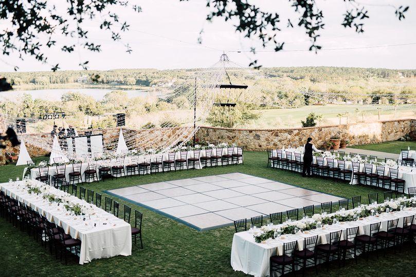 Elegant reception space