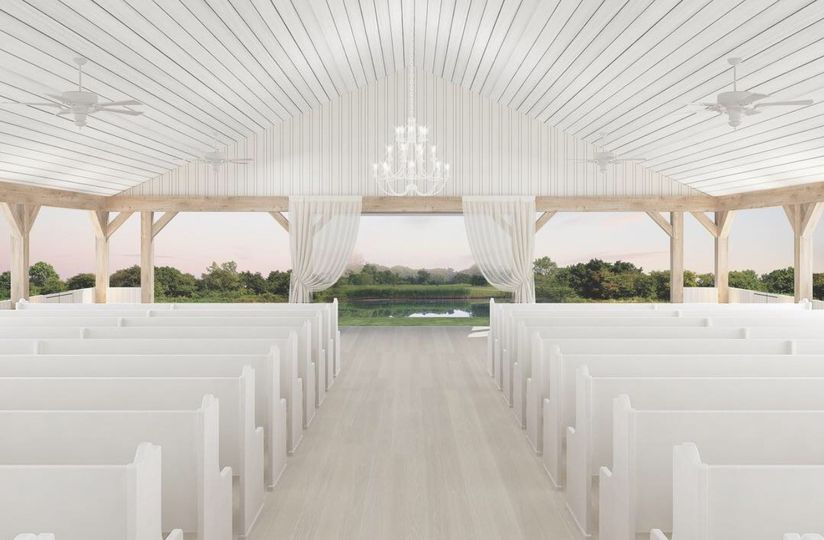 At 3,000 square feet The Grand Ivory chapel can accommodate up to 250 guests. Overlooking the...