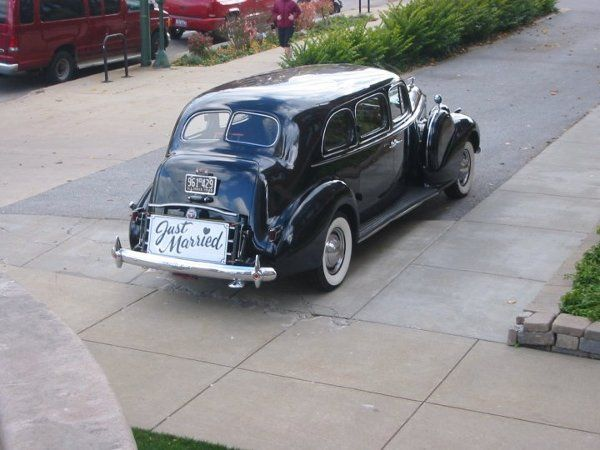 "This 1940 Packard Limousine is known around town as ""The Godfather"".  It was featured in the film..."
