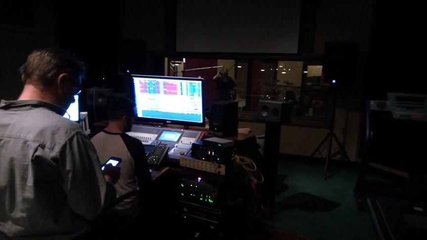 Rhonda Vincent recording