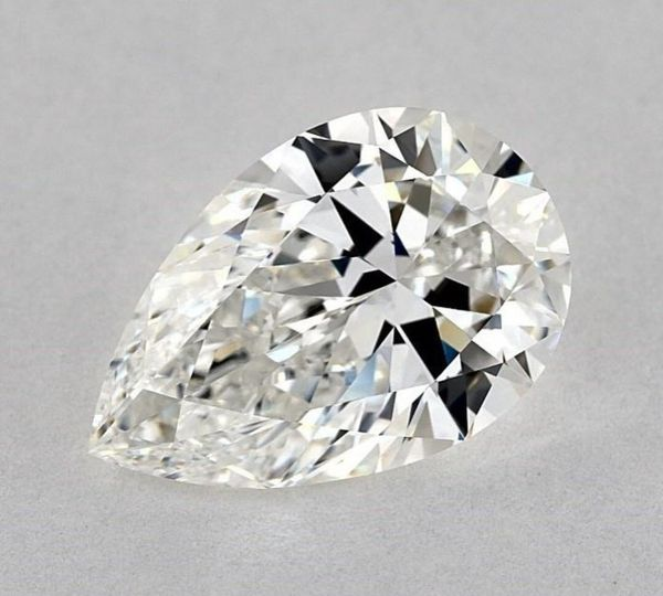 Pear-shaped diamond